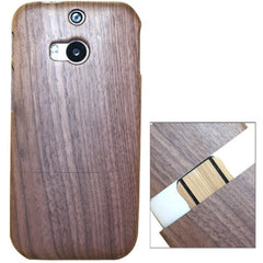 Detachable Wood Material Case for HTC One M8