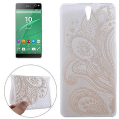 0.3mm Ultra-thin Seaweed Pattern TPU Protective Case for Sony Xperia C5 Ultra
