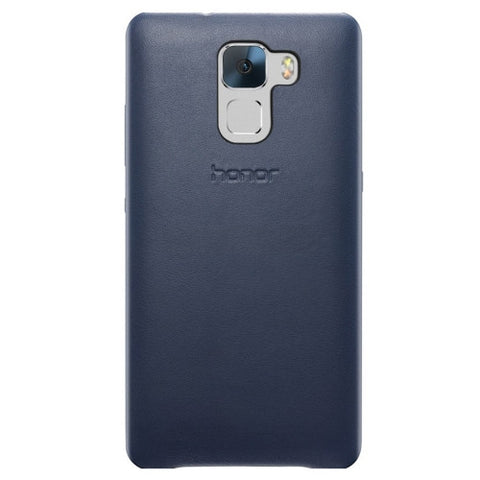 Huawei Honor 7 Genuine Leather Case(Blue)