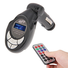 4 in 1 Car FM Transmitter (Black)