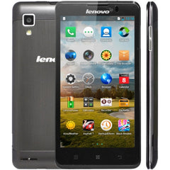 Lenovo P780 3G Network Smart Phone 5.0 inch MTK6589 1.2GHz Quad Core RAM: 1GB ROM: 4GB Dual SIM Dual Cameras(Black)
