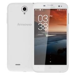 Lenovo A850 3G Network Smart Phone 5.5 inch Android OS 4.2 MT6782M Quad Core 1.3GHz RAM: 1GB ROM: 4GB Dual SIM(White)