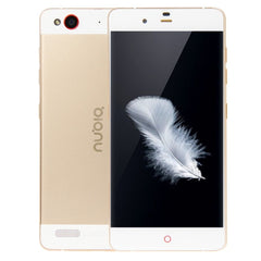 ZTE Nubia My Prague / NX513J 32GB 5.2 inch Android 5.1 Qualcomm Snapdragon 615 MSM8939 Octa Core 1.5GHz+1.0GHz RAM: 3GB Network: 4G OTG GPS(Gold)