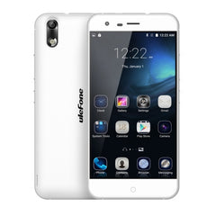 Ulefone Paris 16GB Network: 4G 5.0 inch Android 5.1 MT6753 Octa Core 1.3GHz RAM: 2GB(White)