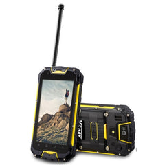 VCHOK M9-LTE 16GB Network: 4G Waterproof Dustproof Shockproof IP68 4.5 inch Android 5.1 MTK6735 Quad-core 1.3GHz RAM: 2GB(Yellow)