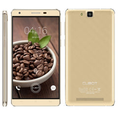 CUBOT H2 3GB+16GB 5.5 inch Android 5.1 MTK6735A Quad-Core 1.3GHz Network: 4G(Gold)