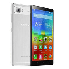 Lenovo VIBE Z2W 32GB Network: 4G 5.5 inch Android 4.4 Qualcomm MSM8916 Snapdragon410 Quad Core 1.2GHz RAM: 2GB(White)