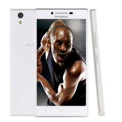 Lenovo P70t 16GB  Smart Phone 5.0 inch Android 4.4 MT6732 Quad Core 1.5GHz RAM: 2GB Dual Micro SIM(White)