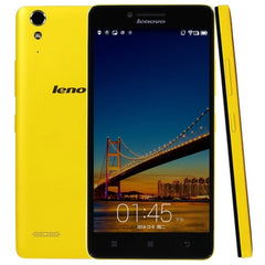 Lenovo Lemon K3 / K30-W 16GB 4G Network 5.0 inch Qualcomm Snapdragon 410 MSM 8916 Quad Core 1.2GHz RAM: 1GB(Yellow)