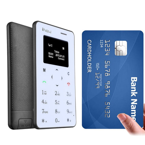 iNew Mini 1 Ultrathin Card Phone