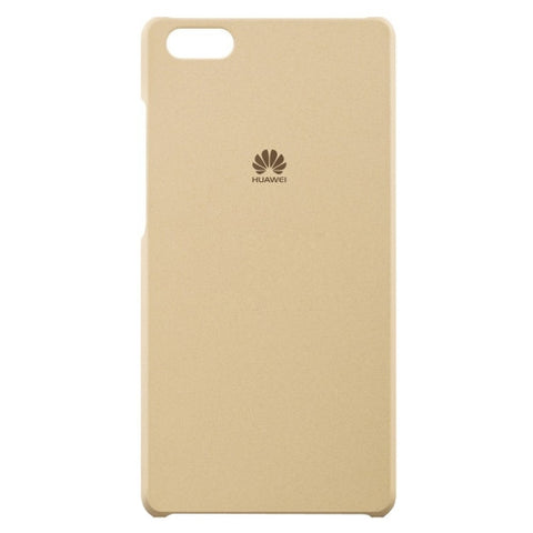 Huawei P8 Lite Frosted PC Protective Case(Khaki)
