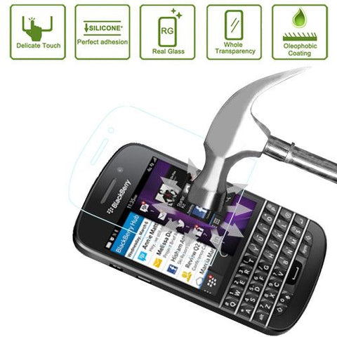 Ultra-thin Explosion-proof Tempered Glass Film for Blackberry Q10, Lopurs 0.3mm