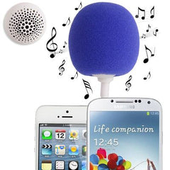 3.5mm Audio Dock / Mini Stereo Speaker Built-in Rechargeable Battery Suitable for All Devices with 3.5mm Audio Jack(Blue)