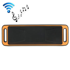 Portable Stereo Wireless Bluetooth Music Speaker Support Hands-free Answer Phone & FM Radio & TF Card(Orange)