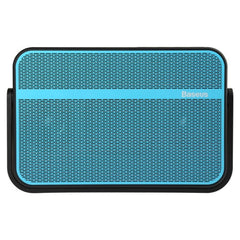 Baseus Vocal Series IPX6 Waterproof Portable Wireless Bluetooth Speaker Support Hands-free Answer Phone & FM Radio & TF Card(Blue)