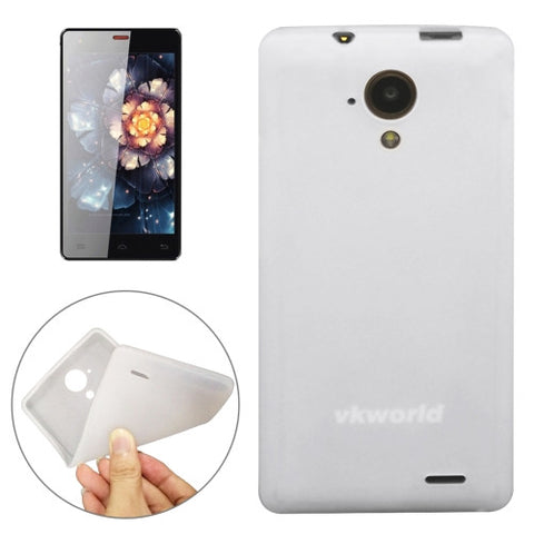 Silicone Protective Case for Vkworld VK6735X (S-MPH-1380)(White)
