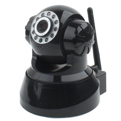 Wireless Pan-Tilt Internet IP Camera, Supports 2 way audio