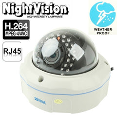 H.264 Wired Infrared IP Camera 2.0 Mega Pixels Motion Detection and Night Vision Function (2216)