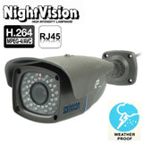 szsinocam H.264 Wired Infrared IP Camera 1.0 Mega Pixels Motion Detection and Night Vision Function (SN-IPC-8003)