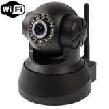 Wireless Infrared IP Camera with WIFI 0.3 Mega Pixels Motion Detection and Night Vision / Dimensional Code Function