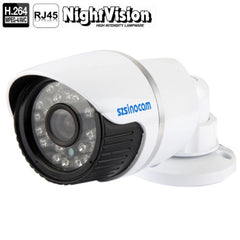 szsinocam H.264 1.0 Mega Pixel Infrared 720P IP Camera 4.0mm Fixed Focal Lens Support RTSP Compatible with VLC Media Player / P2P and PnP function for optional