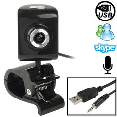 5.0 Mega Pixels USB 2.0 Driverless PC Camera / Webcam with Clip + MIC Cable Length: 1.1m