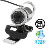 5.0 Mega Pixels 10X Digital Zoom USB 2.0 Driverless PC Camera / Webcam with Clip Support 360 Degree Rotation Cable Length: 1.1m