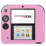 Pure Color Ultra Thin Silicone Case for Nintendo 2DS (Pink)