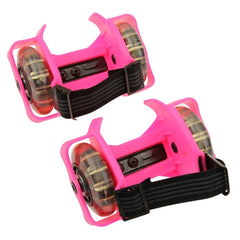 Flashing rollers Light-up skate Max Load: 45kg(Pink)