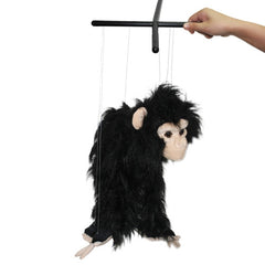 Plush Orangutan Puppet Doll(Black)