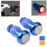 Bicycle Handlebar Bar End Red Light Warning Safety Light (Random Color Delivery)