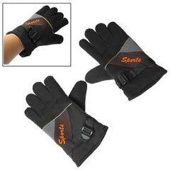 Splicing patterns Protection For Outdoor Sports Gloves (Black)