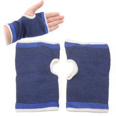 Stripe Style Knitted Gloves
