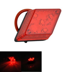 5-LED 7-Modes Rhombus Warning Bicycle Tail Lamp Rear Light(Red)