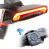 Meilan X5 Wireless Remote Control Laser Tail Lamp for Bicycle Waterproof Level: IPX4