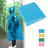 Disposable Pocket Emergency Thicken Raincoat (Random Color Delivery)