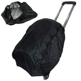 Pull Rod Bag Waterproof Rainproof Cover(Black)