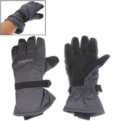 Soft Warm Protection Full-fingered Skiing Gloves (Grey)