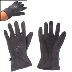 Windproof Waterproof Warm Protection Full-fingered Gloves (Grey)