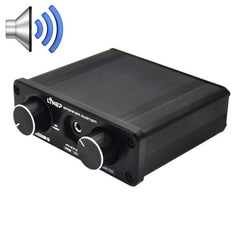 A926 Four-In Two-Out Signal Amplifying Switcher(Black)