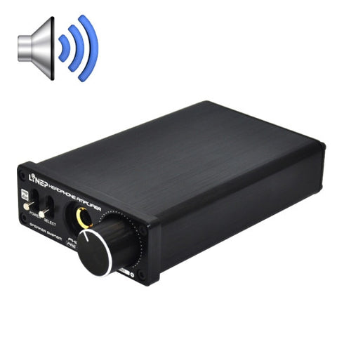 A929 Desktop high-impedance Headphone Amplifier(Black)