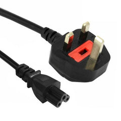 3 Prong Style Big UK Notebook Power Cord Cable Length: 1.5m