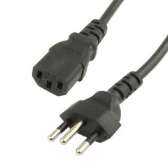 3 Prong Style Brazil AC Power Cord Length: 1.5m ( OD6.8 )