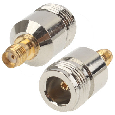 N Female to SMA Female Connector