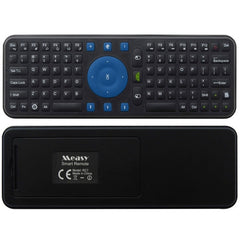 Measy RC7 2.4G USB Wireless Keyboard Gyroscope Air Fly Mouse for Mini PC Android TV Box(Black)