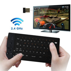 Measy TP801 Wireless Touchpad Mouse 2.4G Wireless Keyboard for Mini PC Android TV Box(Black)