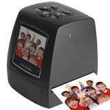 USB 2.0 35mm 5MP 2.36 inch TFT LCD Screen Film Scanner Support SD Card
