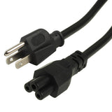 High Quality 3 Prong Style US Notebook AC Power Cord Length: 1.8m
