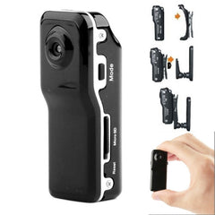 MD80 3 in 1 Mini Digital VIDEO Camera Camcorder POCKET DV with 720*480 pixels Viewing Angle: 60 Degree(Black)