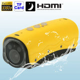 RD32II Full HD 1080P Waterproof Mini DV Sport Camera with 2 IR LED Night Vision Lights 5.0 Mega Pixels Support TF Card / HDMI Output 120 Degree Viewing Angle